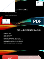 Caso Clinico TOSFERINA por Carlos M. Montaño