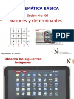 PPT SEMANA 06 2014 II-Matrices y Determinantes