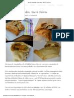 Masa de Empanadas, Receta Chilena
