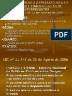 03 Lei Anti-Drogas - Lei 11343-2006.ppt