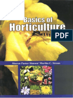 Basics of Horticulture