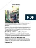 História de Santa Maria Madalena