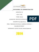 Mercado de Divisas, Comercio Exterior y Balanza de Pagos (1)