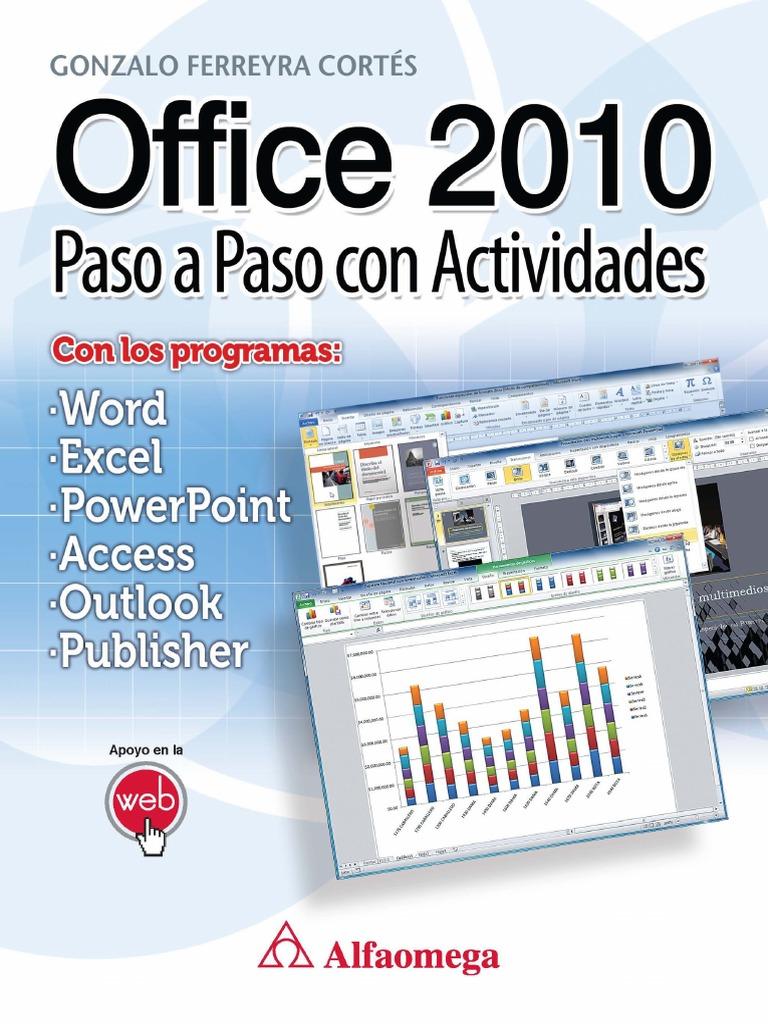 Office 2010 Paso a Paso Con Actividades