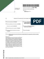 Sistema autónomo de envío de información mediante Bluetooth, programable, alimentado mediante