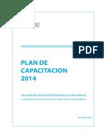 Plan Capacitacion 2014 1