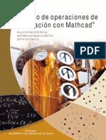 Cálculo de Operaciones de Separación Con Mathcad