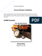 2015 NWS Member Exhibition OnLine Catalog