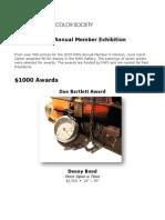 2015 NWS Member Exhibition OnLine Catalog