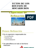 6.7 Capacidad Refinación