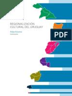Regionalizacion Cultural Del Uruguay
