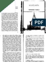 Ecodiseño - Fernando Tudela
