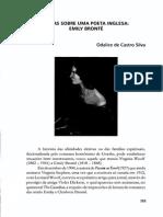 ACL a Mulher Na Literatura 19 Notas Sobre Uma Poeta Inglesa Emily Bronte ODALICE de CASTRO SILVA