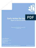early action for success report2014