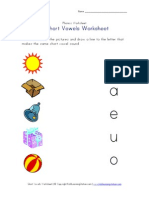 Short Vowel Matching3