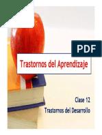 Clase 10_TD_Trastorno Del Aprendizaje