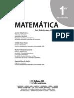 DOCENTE - Matemática - 1° Medio
