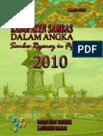 001-Sambas Dalam Angka 2010