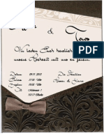 Einladungskarte Kai