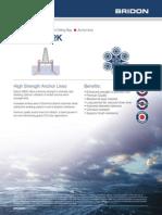 Bridon Oil & Gas Datasheets