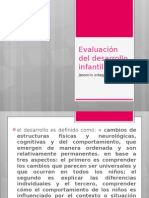 Evaluación Del Desarrollo Infantil