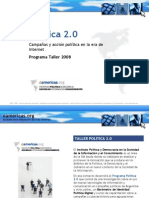 Taller Politica 2.0 - Campañas en la Sociedad de la Información