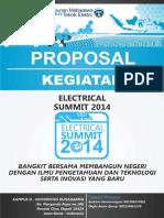 Proposal Kegiatan Electrical Summit 2014 (Undangan)