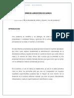 Informe de Laboratorio de Química N_1 Editado