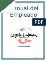 Manual Del Empleado Spanish