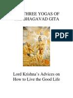 3 Yogas of Bhagavad Gita