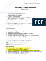 Lummus Shutdown October-2014 Job List