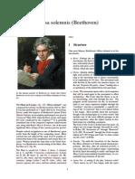 Missa Solemnis (Beethoven) (1)