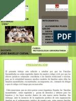 Presentación de Trabajo Familias Ensambladas - Trabajo Final