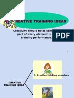 Creative Training Ideas