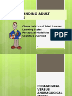 Understanding Adult Learners Updated