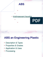Abs an engineering plastic