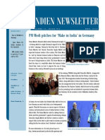 PM Modi pitches for 'Make in India' in Germany