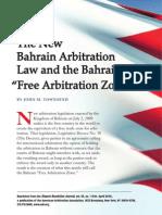 Bahrain's Free Arbitration Zone