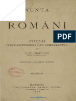 S. Fl. Marian - Nunta La Romani