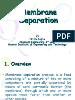 Membrane Separation