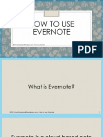 The Basics of Evernote