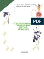 0 Concurs Flori de Mai Invitatie I