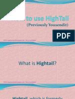 The Basics of Hightail