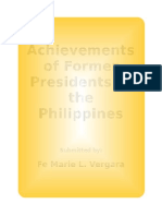 5 Former President and Their Achievements