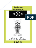Quantum Energy Generator (QEG) Manual - 3rd Edition