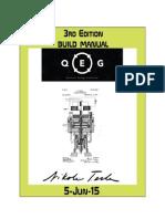 Quantum Energy Generator (QEG) Manual - 3rd Edition