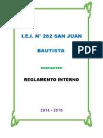 REGLAMENTO INTERNO 2014 - 2015 (I.E.I. N° 282 SAN JUAN BAUTISTA).docx