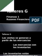 Ejercicio Talleres G Finanzas 1