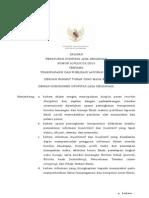 Peraturan Ojk Tentang Transparansi Dan Publikasi Laporan Bank