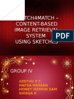 CONTENT-BASED  IMAGE RETRIEVAL SYSTEM  USING SKETCHES